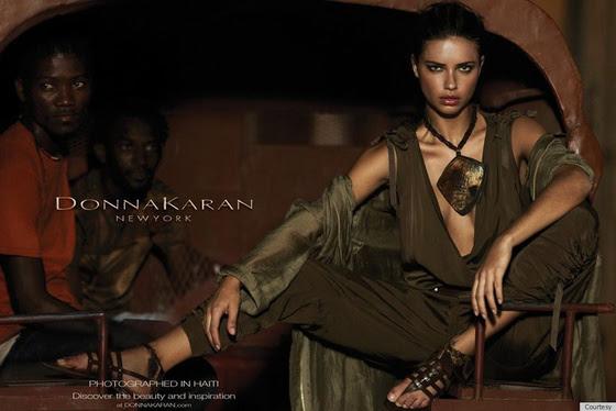 Adriana Lima causa polémica para Donna Karan