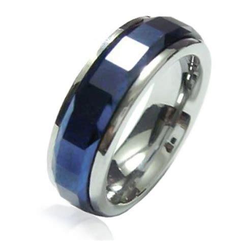 Blue Tungsten Rings   AQUAMARINE BIRTHSTONE RINGS   Blog.hr