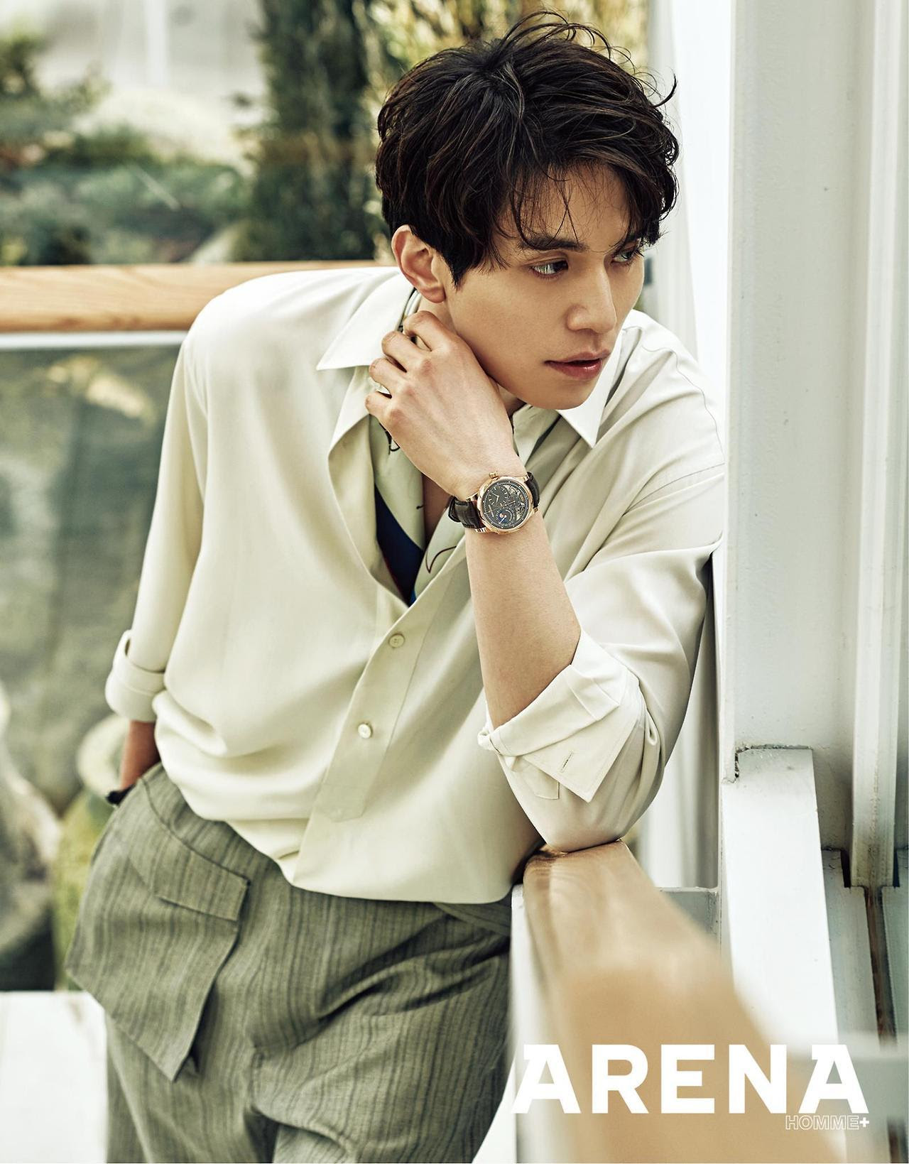 Lee Dong Wook - Arena Homme Plus Magazine March Issue '17