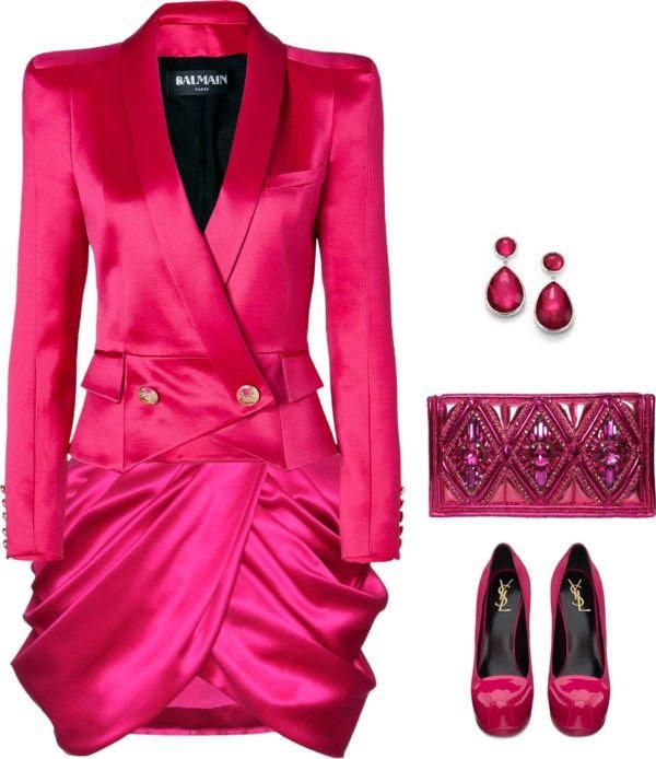 Balmain  Wool And Silk Miniskirt