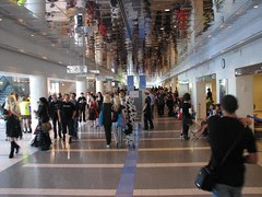 Main Hallway, people wandering about