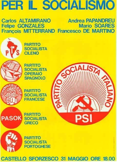 Internazionalismo socialista: dalla rivoluzione dei garofani all'Unione delle Sinistre