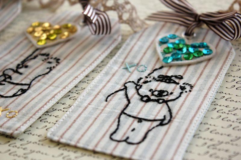 xo bear tags by nanaCompany