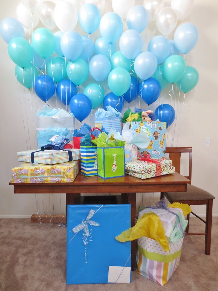 Balloon wall baby shower decorations | party decoration ideas~ | Pint…