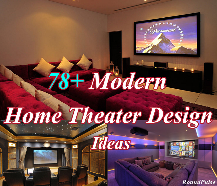 78 Modern Home Theater Design Ideas 2020 Uk Round Pulse