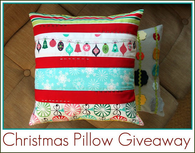 Christmas Pillow Giveaway