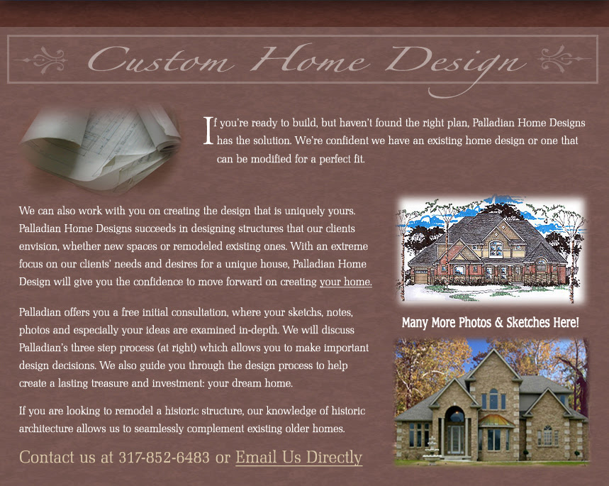 Palladian Home Design Palladian Blueprint Services For All Of Your Architectural Design And Drafting Needs In Central Indiana
