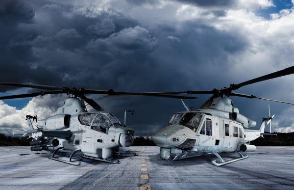 AH-1Z y UH-1Y tendrán una computadora nueva misión (Imagen: wallpaperup.com)