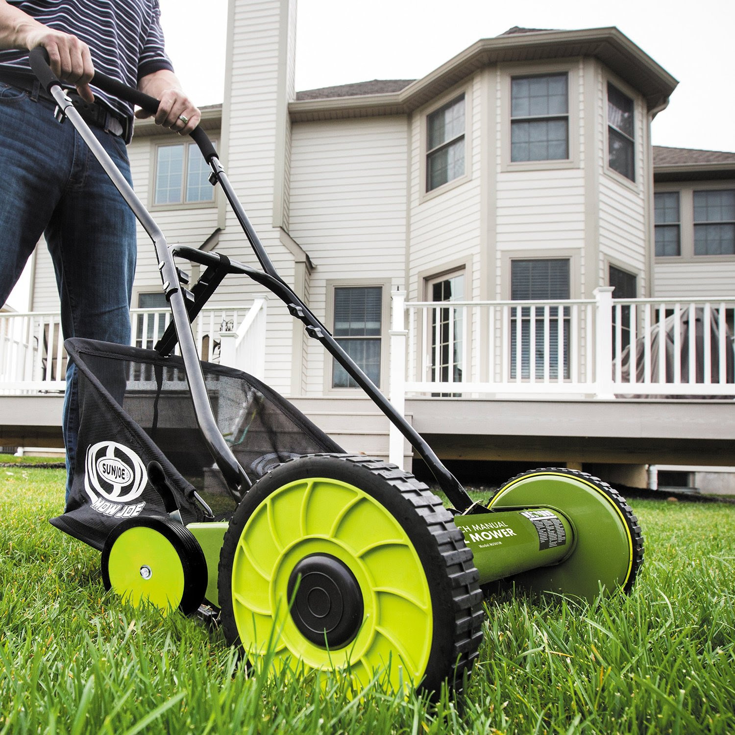 Sun Joe Mow Joe MJ501M 18 Inch Manual Reel Mower Review