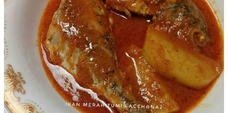 Resep Ikan Merah Tumis Aceh Oleh NANA2202
