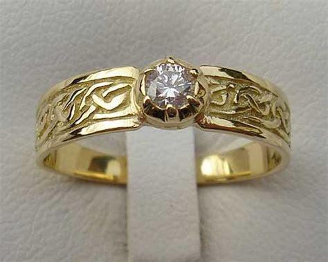 Mens Scottish Celtic Wedding Ring ONLINE in the UK!