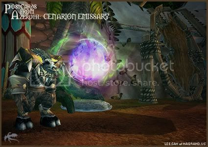 Postcards of Azeroth: Cenarion Emissary, submitted by Angelya