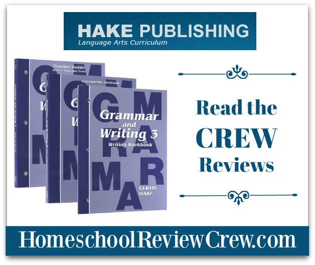 Hake/Saxon Grammar and Writing 3 {Hake Publishing Reviews}