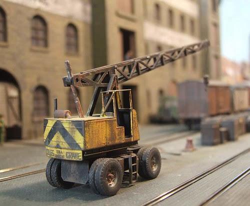 Model Coles crane