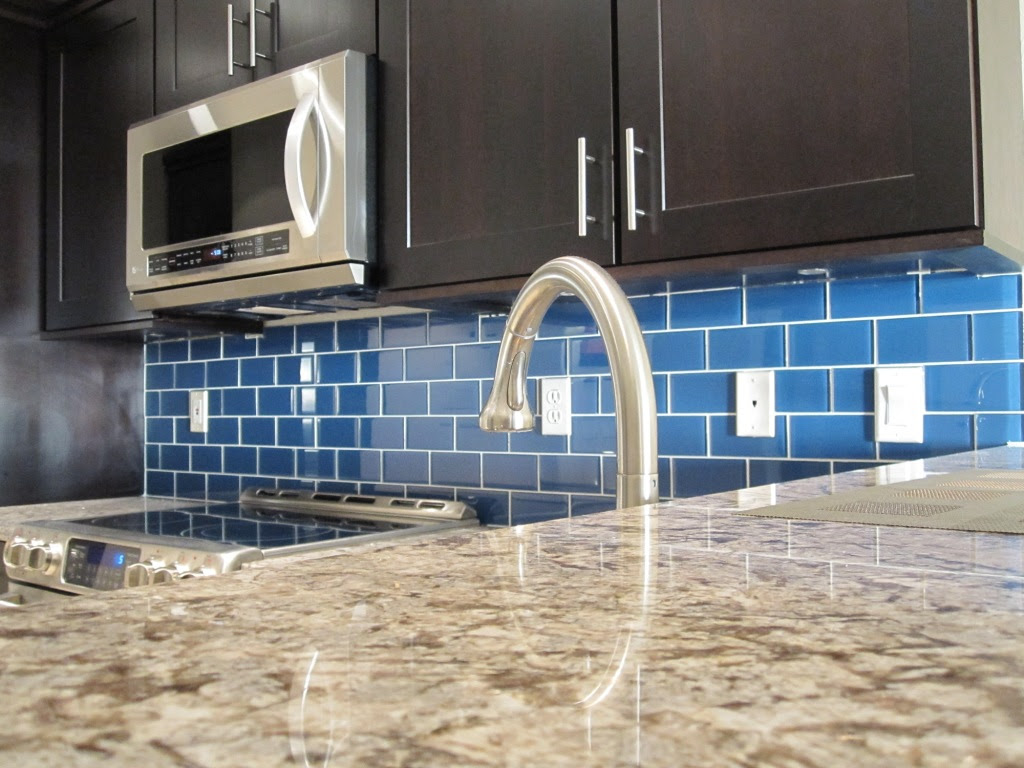 How To Install A Glass Tile Backsplash Armchair Builder