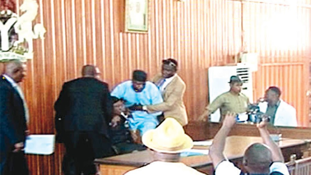 Breaking News!! Heavy Shooting In Edo State House Of Assembly