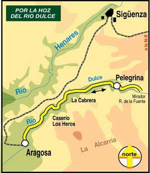 Resultado de imagen de barranco del rio dulce mapa