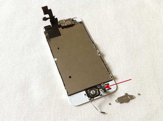 iPhone 5S disassembly stage 14