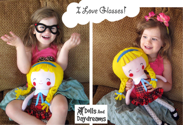 Back to School Doll Sewing Pattern