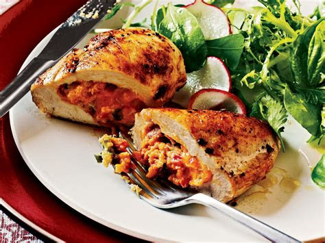 healthy chicken breast recipes cooking light