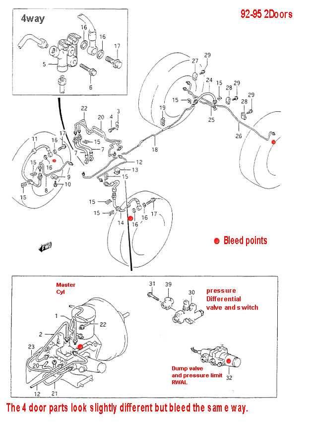 Suzuki Vitara Rear Brake Diagram