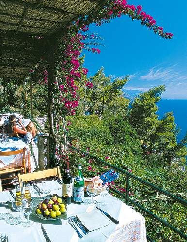 Le Grottelle, Capri, Italy