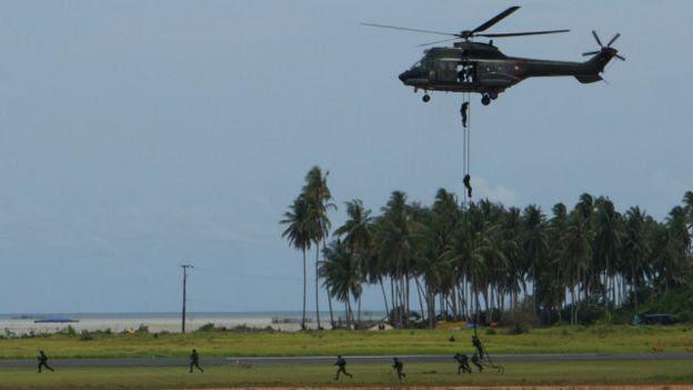 Latihan TNI AU