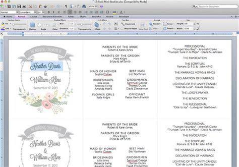 DIY Tutorial: FREE Printable Ceremony Booklet   Boho