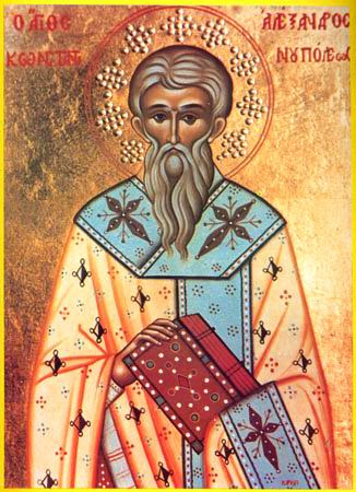 ST MENAS, the Patriarch of Constantinople