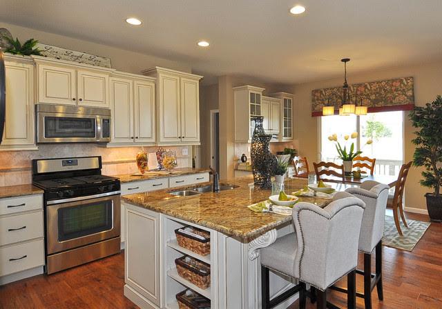 """Belmont"" Model Home Kitchen - Traditional - Kitchen ..."