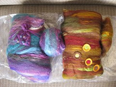 Seriously Spontaneous Spinning Batts