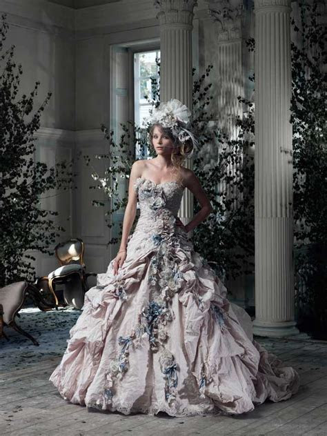 Wow your guests in a dramatic gown from Ian Stuart in 2014