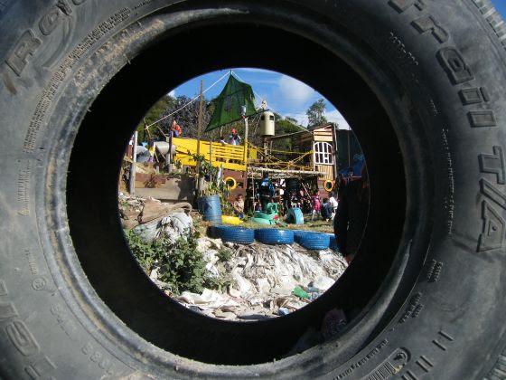 El nuevo parque que los vecinos han construido para los niños del barrio
