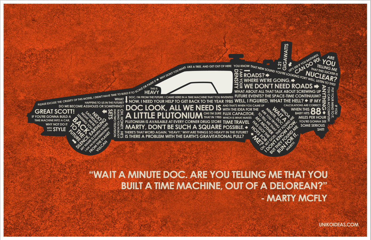 Back To The Future Afbeeldingen Back To The Future Quote Poster Hd