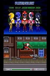 Mighty Morphin Power Ranger Video Game