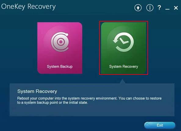 Lenovo-OneKey-Recovery