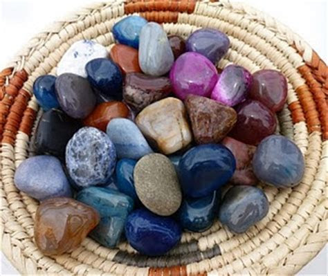 Blessing stones   a ritual that involves guests in your