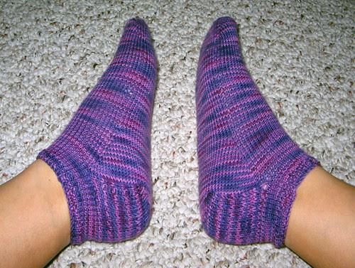 Widdershin anklets