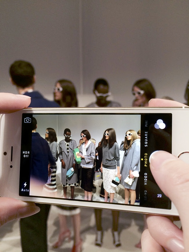 6 Backstage at the Burberry Prorsum Womenswear Spring_Summer 2014