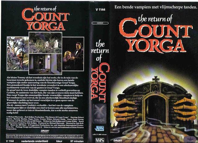 The Return Of Count Yorga (VHS Box Art)