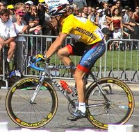 Lance ARMSTRONG maillot jaune