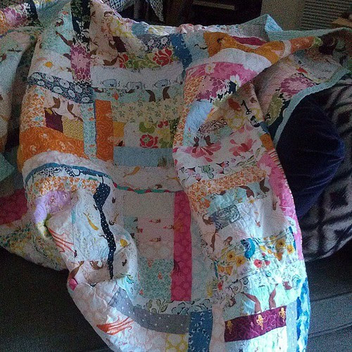 Quilt is done!
