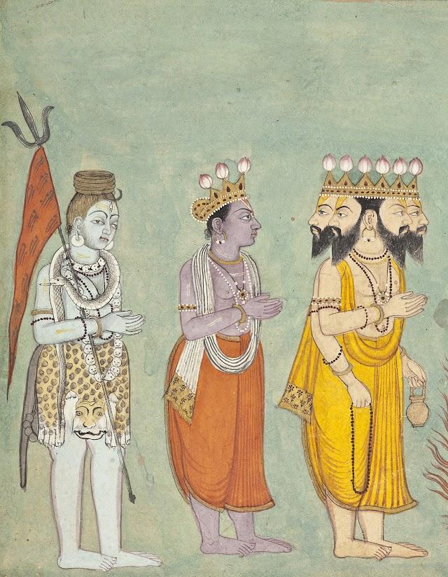 Bhagavad gita hoofdstuk 5 vers 8-9