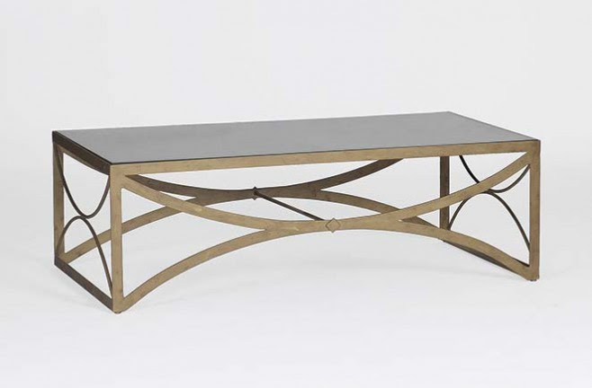Transitional Metal Coffee Table