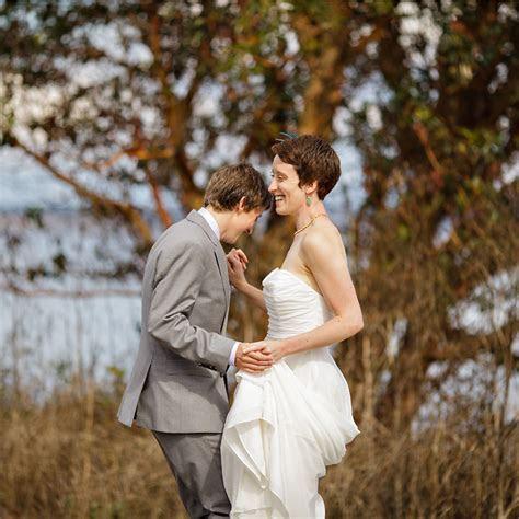 Patricia & Kirsten?s Fort Worden Wedding ? Sarah Postma