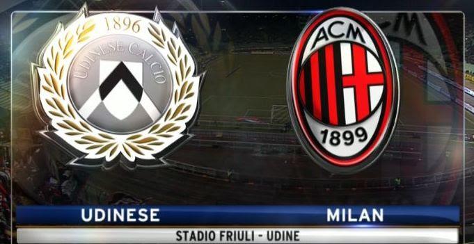 Image result for Udinese vs AC Milan
