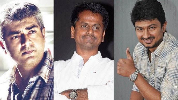 Ajith - Murugadoss under Udhayanidhi's Red Giant banner?
