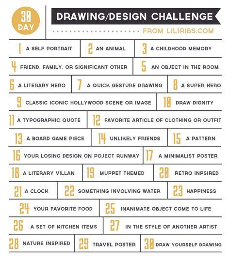 day drawing  design challenge  liliribs  deviantart