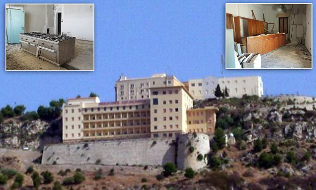 Sicily's Grande Hotel San Calogero, built in 1954 but not one guest has ever checked in