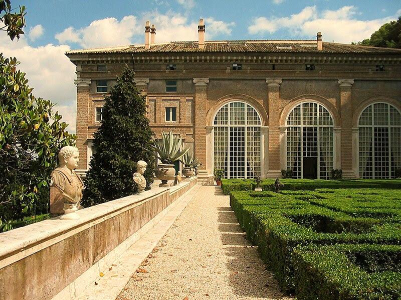 File:Il giardino di Villa Madama.jpg
